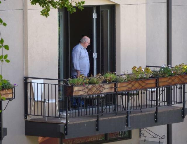 Balcony Man